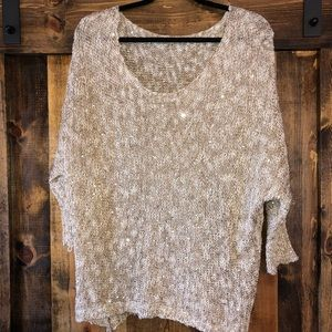 Gold Tunic with Sequins